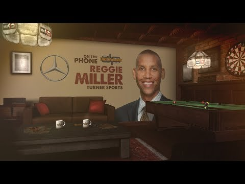 Turner Sports Reggie Miller Talks NBA Playoffs and More w/Dan Patrick | Full Interview | 5/14/18