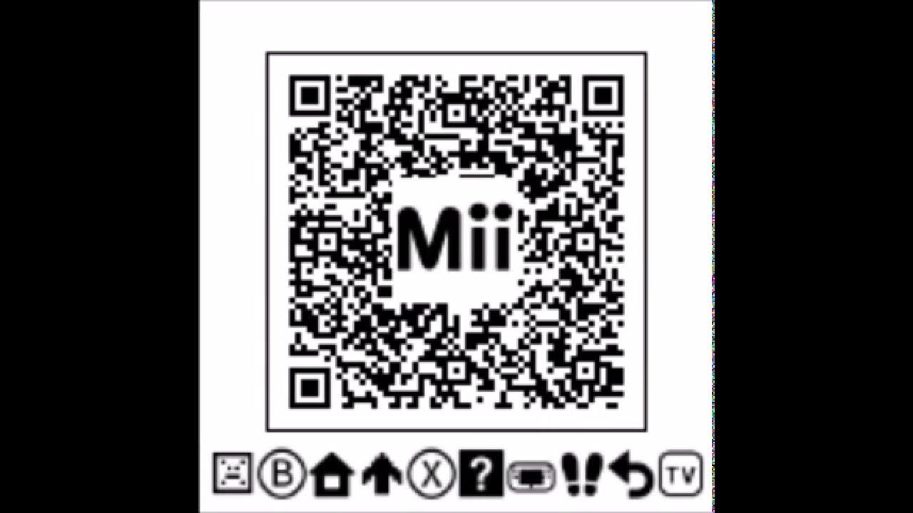 Dantdm Qr Code Mii List: Hacked Mii QR Codes 2