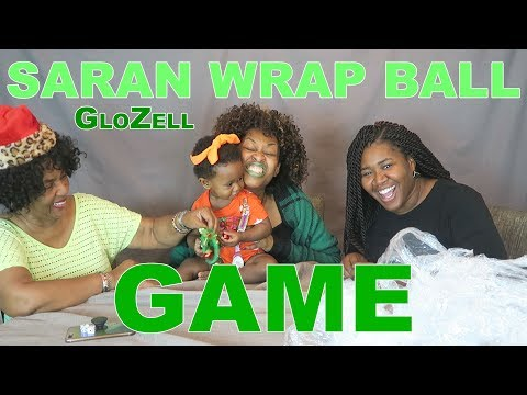 Saran Wrap Ball Game - GloZell