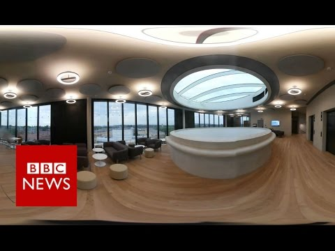 RIBA: The Blavatnik School of Government (360 video) - BBC News