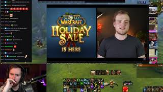 "Asmongold Watches ""Activision's Rising Influence Over Blizzard & A New Low For The WoW Store"""