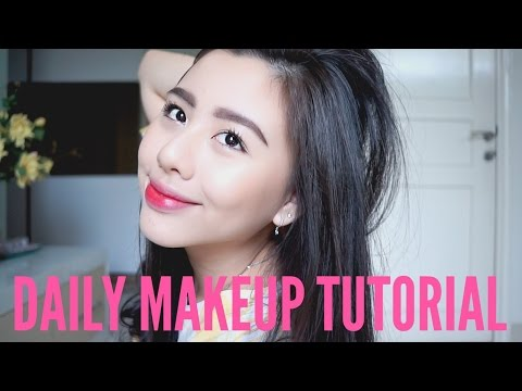 Daily Makeup Routine Without Foundation    Ludovica Jessica