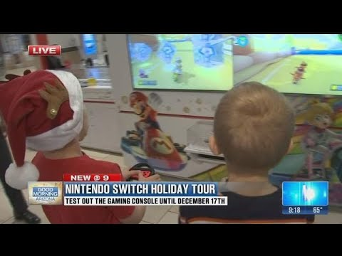 Nintendo makes Holiday mall tour