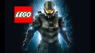 How to make a Lego Master Chief (Halo)