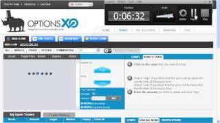 OptionXO.com -BINARY OPTIONs- Best Platform $ 25 Deposit