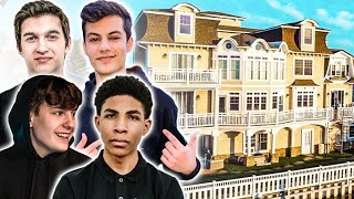 The New NRG Fortnite House Tour | Clix, Ronaldo, Unknown, Edgeyy