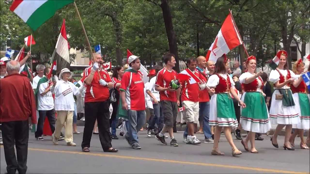 Canada Day Celebration In Montreal Canada July 01 2013