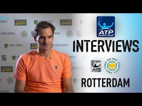 Federer: 'I Feel Like I Deserved To Win' Rotterdam 2018 SF