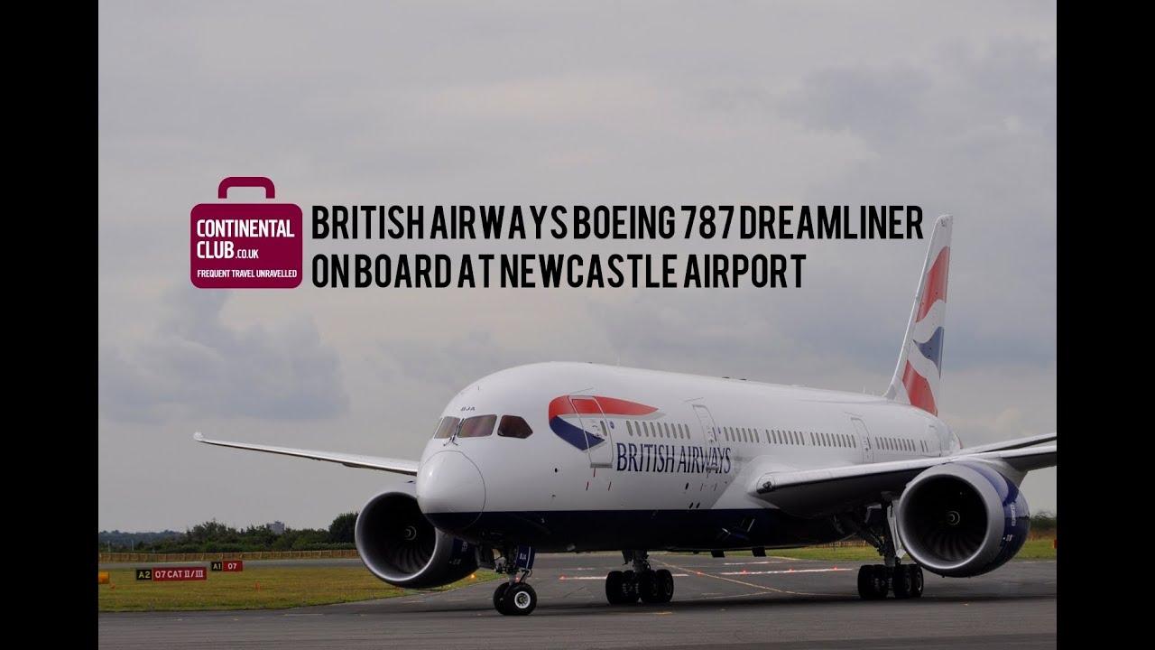 British Airways Boeing 787 Dreamliner On Board At