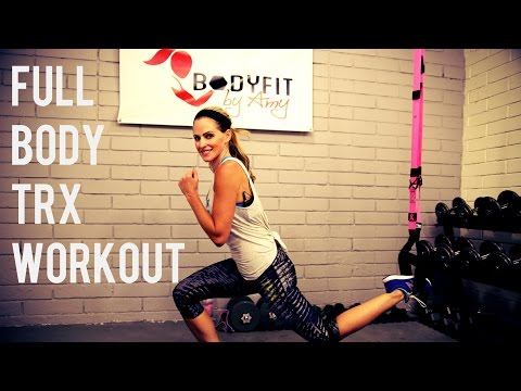 30 Minute Full Body TRX Workout for Strength and Cardio