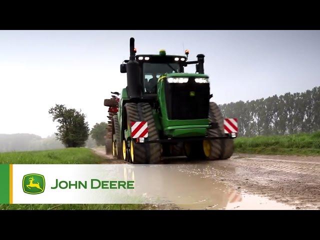 John Deere - La nueva serie de tractores John Deere 9RX – Jugando en el barro