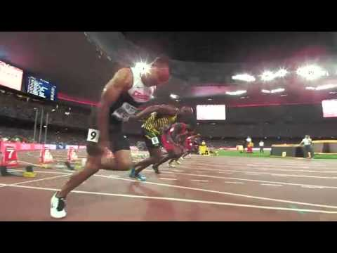 Bolt vs Gatlin 100m IAAF WorldChamps - MACEDONIAN commentary