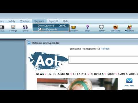 How to disable pop-ups in the AOL Desktop software