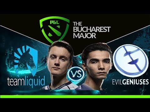 [DOTA 2 LIVE PH]Team Liquid VS Evil Geniuses |Bo3| The Bucharest Major 2018 - Main Event PLAYOFF