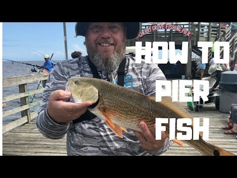 How To Make Pier Fishing Rigs And Catch Pier Fish