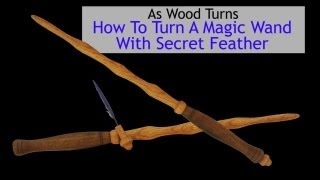 How To Turn A Magic Wand With Secret Feather