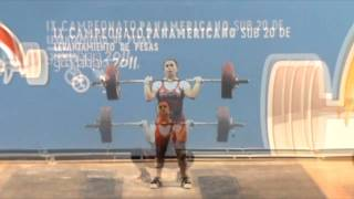 IX Pan American U-20 Weightlifting Championship in Guadalajara Part I