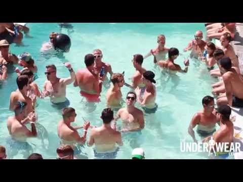Trunks Or Speedos? Lyst LA Pool Party