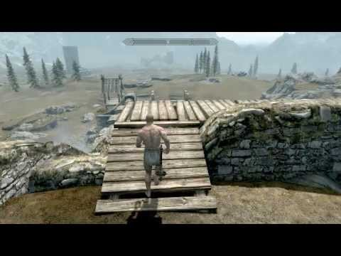 Funny Speed Cheat For Skyrim