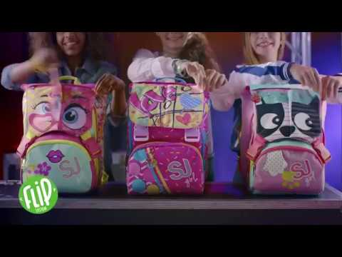 183f417131 Zaini Scuola Seven Sj Gang Girl 2017/18 - YouTube