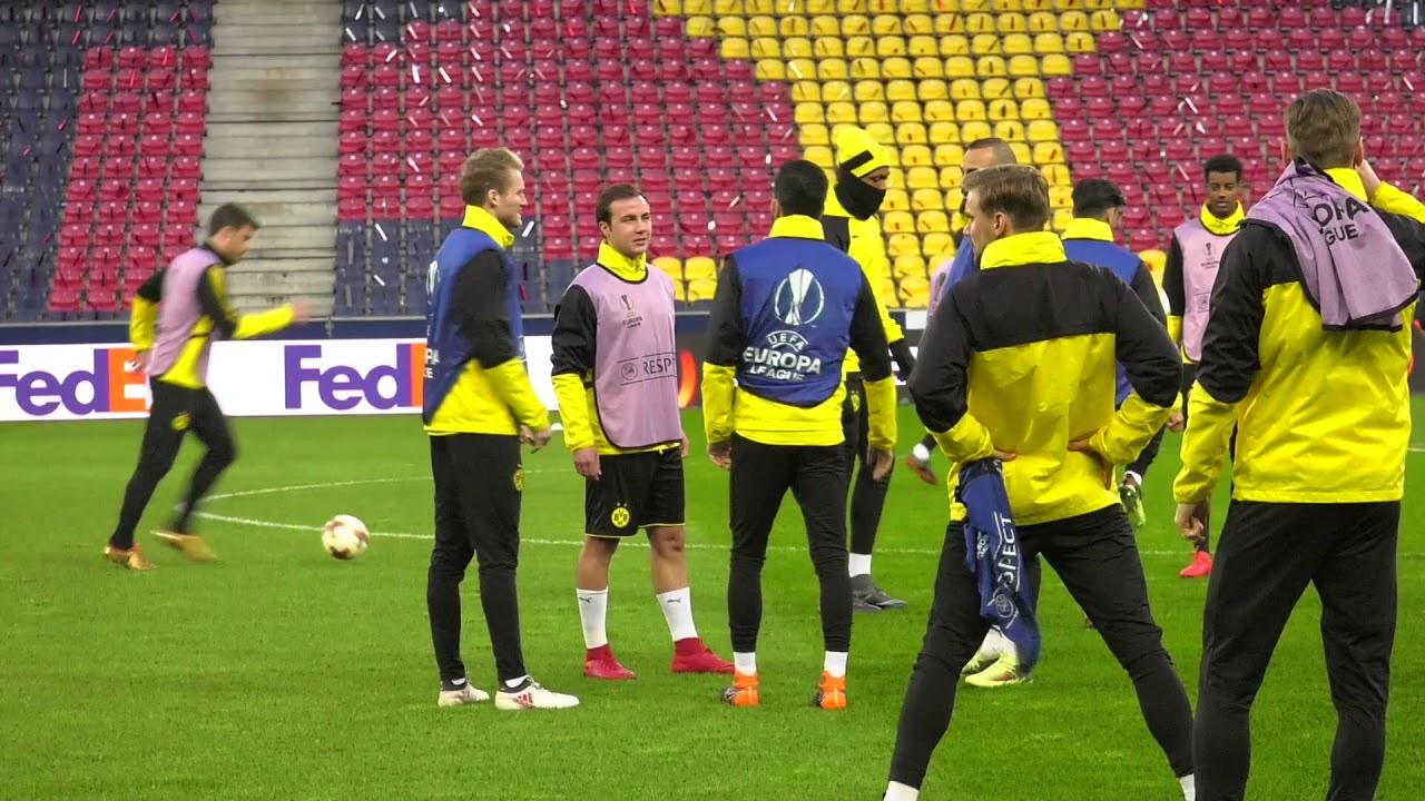 BVB-Abschlusstraining vor dem Spiel beim FC Salzburg