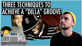 3 Different Ways t๐ Create Dilla's Drunk Drum Groove | Ableton Live 10