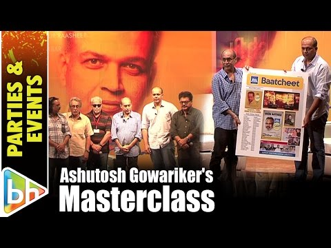 Masterclass With Ashutosh Gowariker