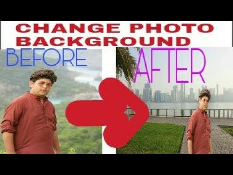 HOW TO CHANGE PHOTO BACKGROUND IN PICSART EASY TUTORIAL  TECHNICAL USMAN