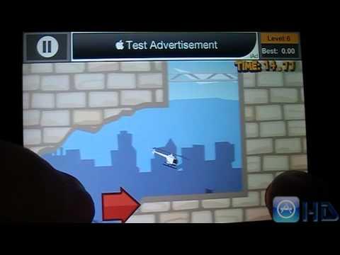 "AppstoreHD - ""Paper Glider Crazy Copter"" Gameplay"