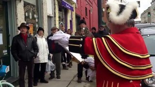 Town Crier Chris Whyman Froid