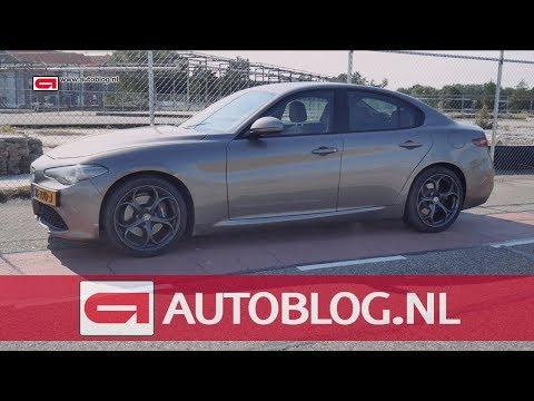 Alfa Romeo Giulia: afscheid duurtester