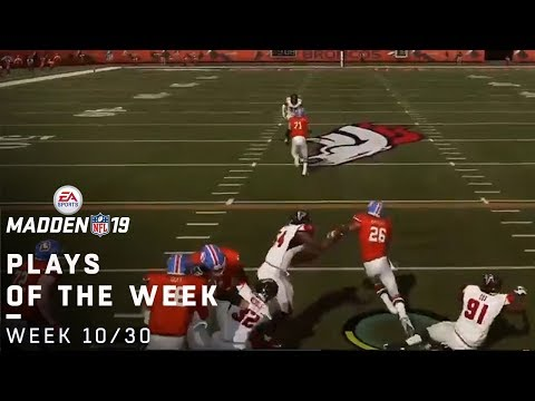 Top Madden 19 Fan Plays of the Week! (10/30)