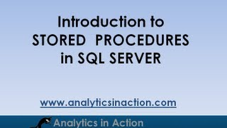 Stored Procedures in SQL Server