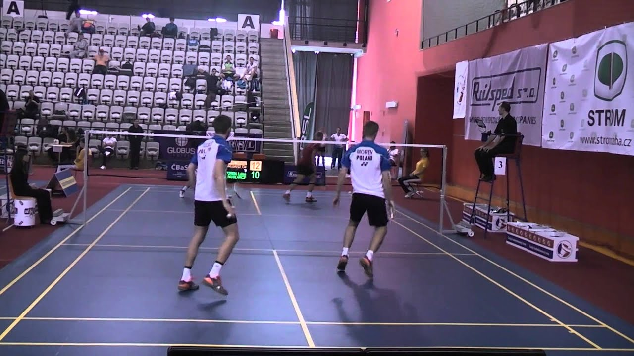 MMČR badminton 2014 MD Lukasz MOREN Wojciech SZKUDLARCZYK