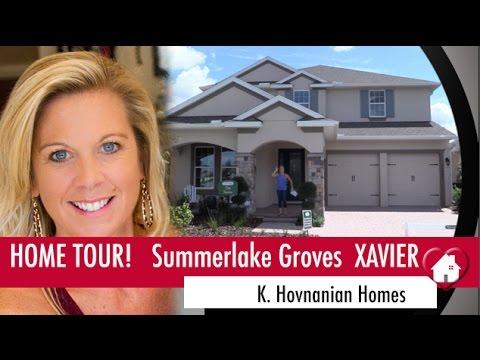 New Homes Winter Garden Florida Xavier Model At Summerlake