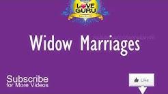 Love Guru about widow Marriages