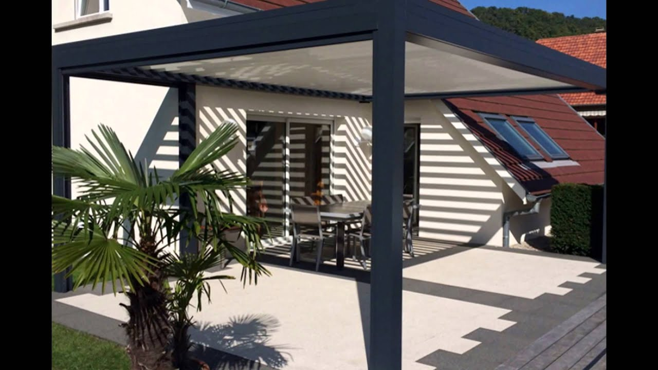 pergola bioclimatique gironde sun mobilier bordeaux youtube. Black Bedroom Furniture Sets. Home Design Ideas