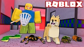 MOOSECRAFT DIVENTA UN ANIMALE DOMESTICO IN ROBLOX! (Roblox Pet fuga)
