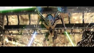 Obi-Wan vs General Grevious but every time their lightsabers clash General Grevious says Dooku