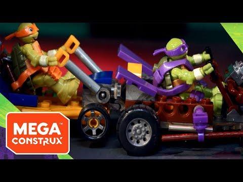 Build & Connect: TMNT Animation | Teenage Mutant Ninja Turtles | Mega Construx