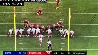 Week 3 Giants vs Bucs (you got one job guy)