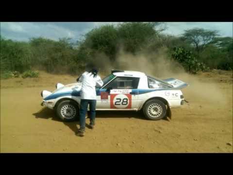 1978 Mazda RX-7(SA22C/FB) A unique rally car.