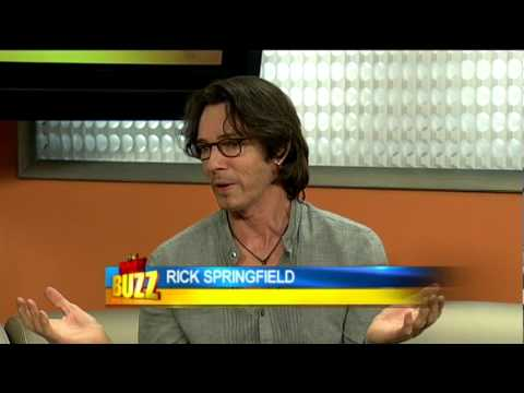 Rick Springfield Uncut Interview #1 (The Daily Buzz)