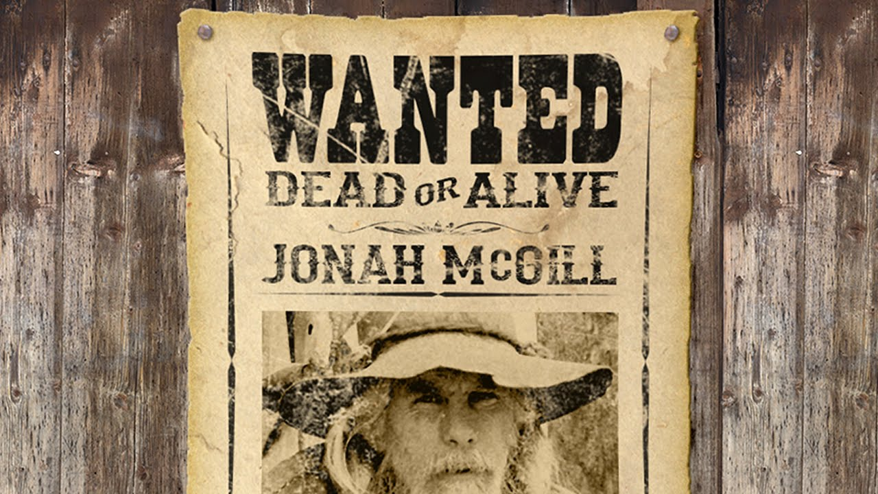 Photoshop Tutorial: How To Make An Old West, WANTED Poster   YouTube  Most Wanted Sign Template