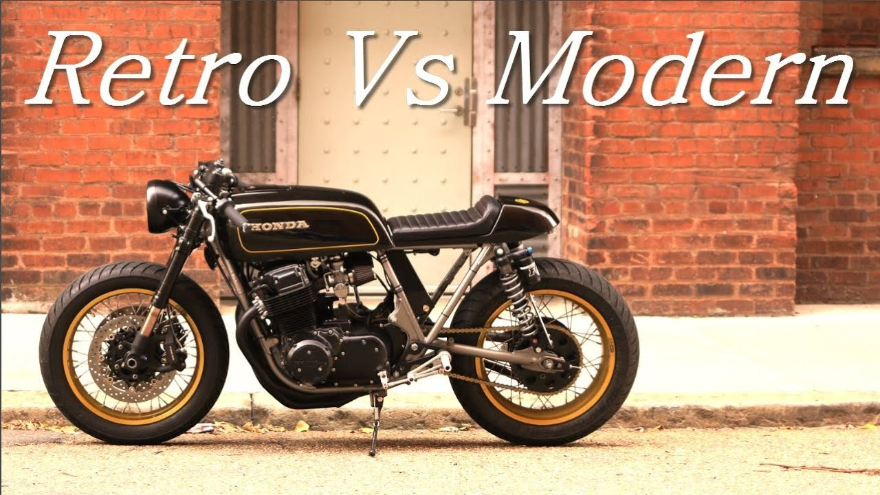 cafe racer (honda cb 750cognito moto) - youtube