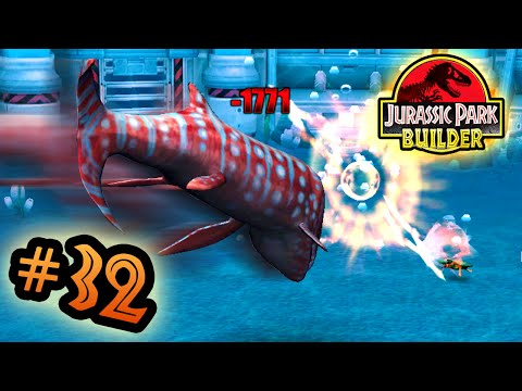 Jurassic Park Builder: MARINE Tournament: Part 32 Headbutt Honcho! HD