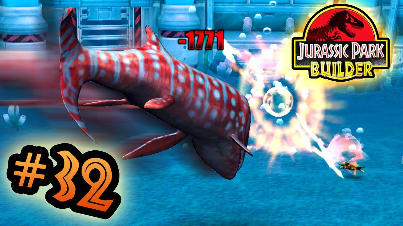 Jurassic Park Builder: MARINE Tournament: Part 32 Headbutt ...