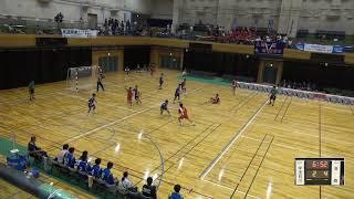 2019年IH ハンドボール 男子 2回戦 石川(福島)VS 大体大浪商(大阪)