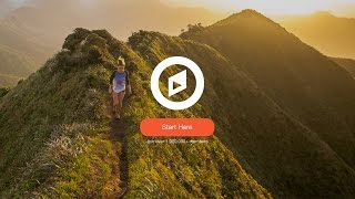 Web Design Speed Art - Travel Site in Adobe Xd
