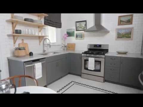 Interior Design —Small & Fun Urban Farmhouse Kitchen Design
